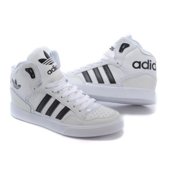 Adidas Originals High Top Leather Shoes